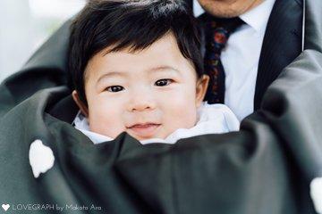 Uta お宮参り | 家族写真(ファミリーフォト)