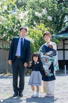 〜お宮参り〜 | 家族写真(ファミリーフォト)