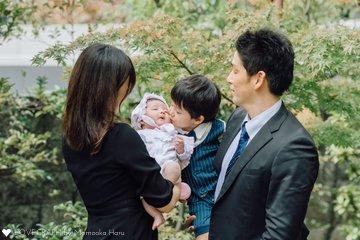 のぞみお宮参り | 家族写真(ファミリーフォト)