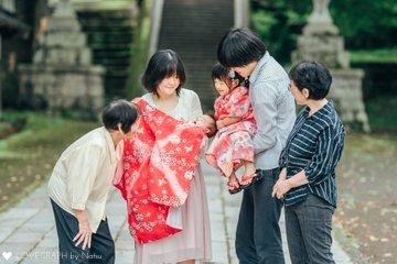 せおり七五三、ひのかお宮参り   家族写真(ファミリーフォト)