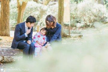 なっちゃん 七五三 | 家族写真(ファミリーフォト)