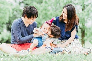 Udo Family | 家族写真(ファミリーフォト)
