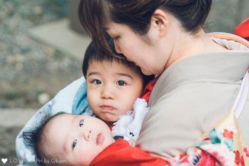 たいち七五三/きこ100日祝い | 家族写真(ファミリーフォト)
