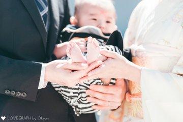 kazuha お宮参り | 家族写真(ファミリーフォト)