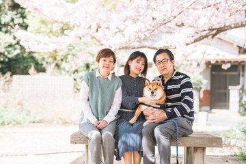 ちび3歳誕生日 | 家族写真(ファミリーフォト)