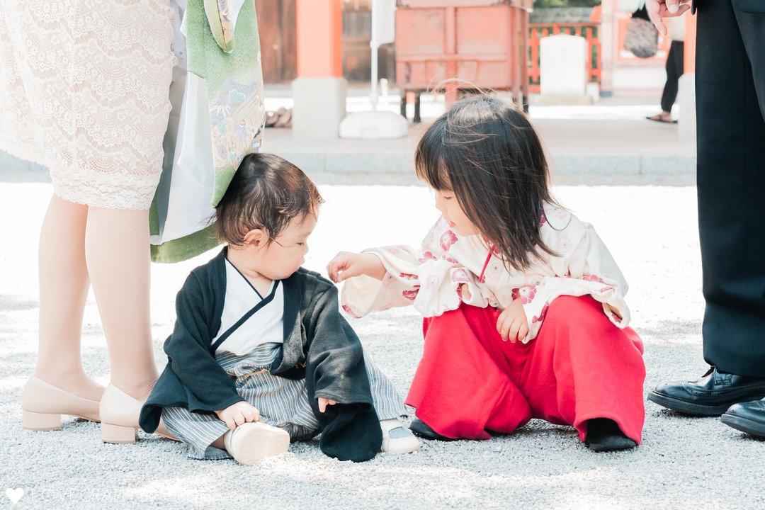 Haru お宮参り | 家族写真(ファミリーフォト)