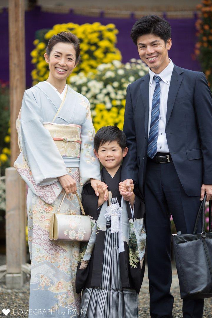 Shun☆七五三 | 家族写真(ファミリーフォト)