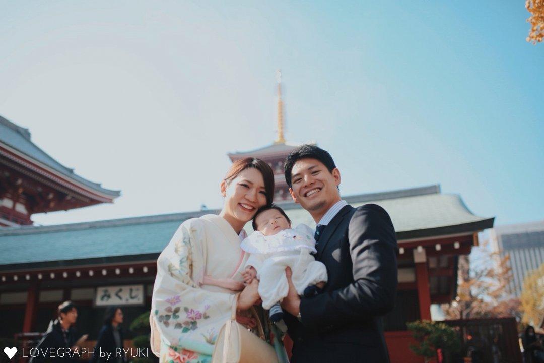 Shrine visit | 家族写真(ファミリーフォト)