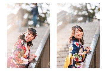 Shiho×Maika | フレンドフォト(友達)