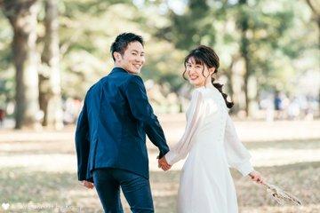 結婚式後撮り  | カップルフォト