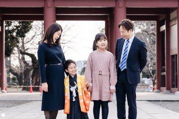 Rei × 七五三 | 家族写真(ファミリーフォト)