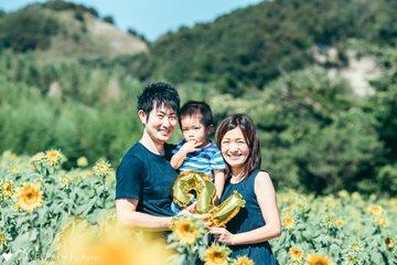 2歳誕生日 | 家族写真(ファミリーフォト)