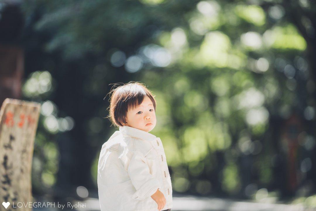 S.I お宮参り   家族写真(ファミリーフォト)