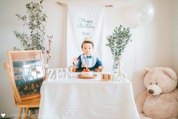 Zen first birthday  | 家族写真(ファミリーフォト)