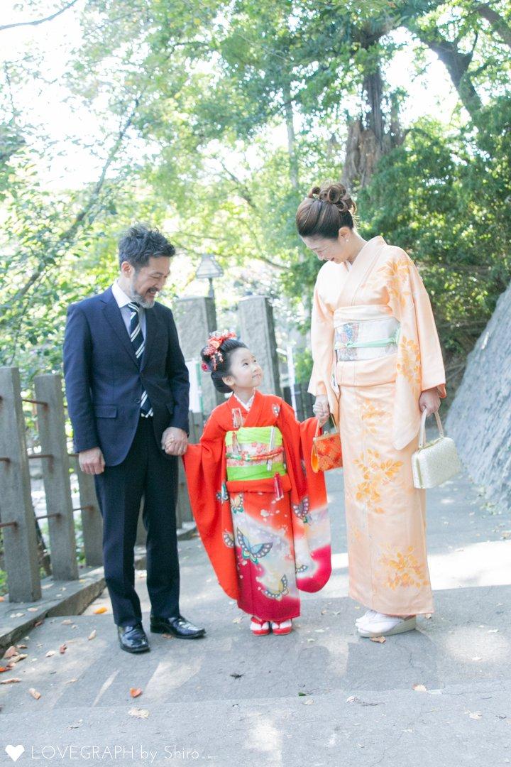 7歳七五三@北区王子神社 | 家族写真(ファミリーフォト)