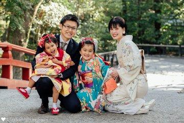 HINAMI×HONOMI 七五三 | 家族写真(ファミリーフォト)