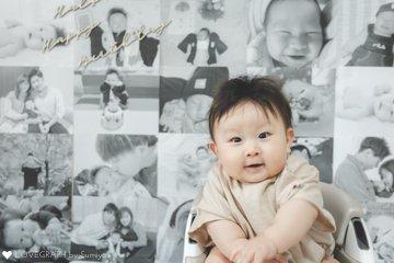 HAYATO Half Birthday | 家族写真(ファミリーフォト)