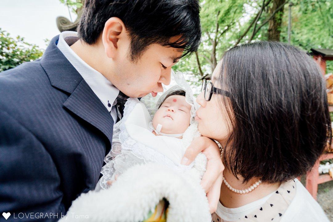 ゆりかちゃん お宮参り | 家族写真(ファミリーフォト)