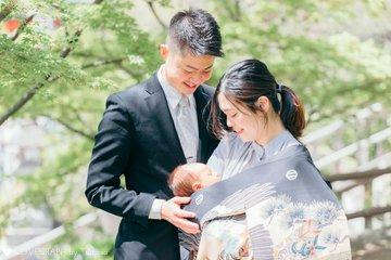 N family お宮参り | 家族写真(ファミリーフォト)