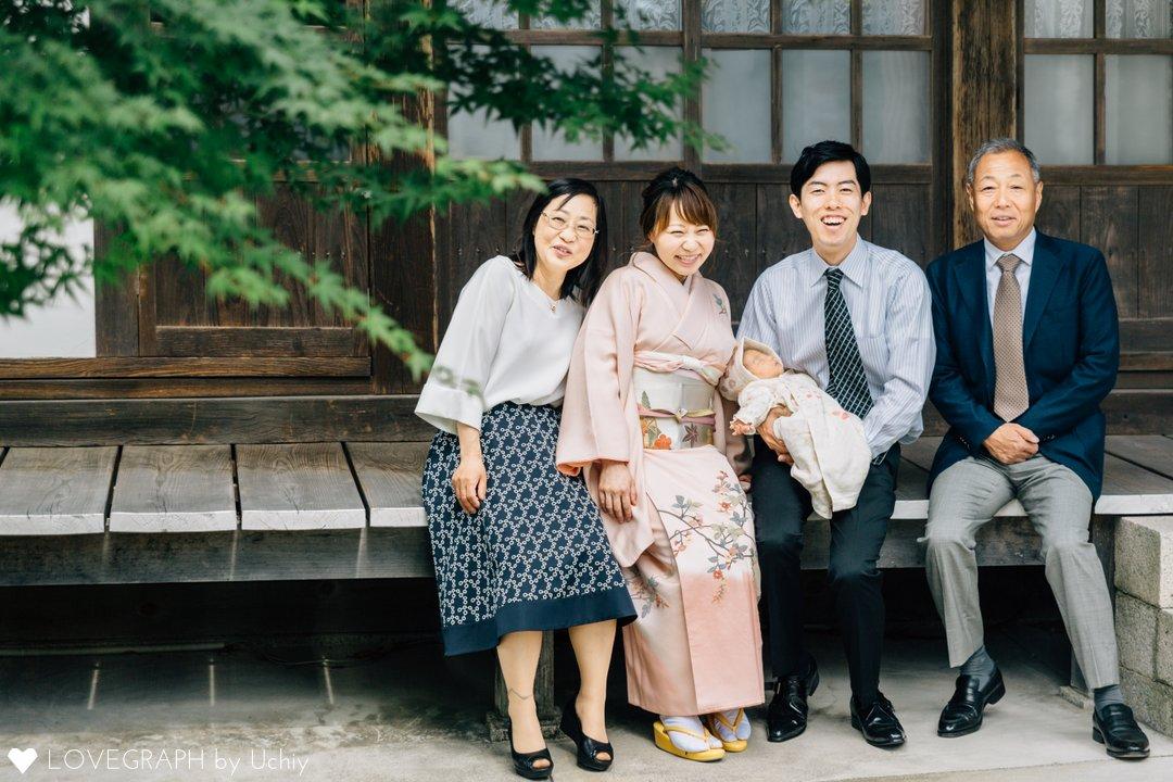 Suzu お宮参り | 家族写真(ファミリーフォト)