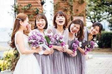 Hika bridesmaids