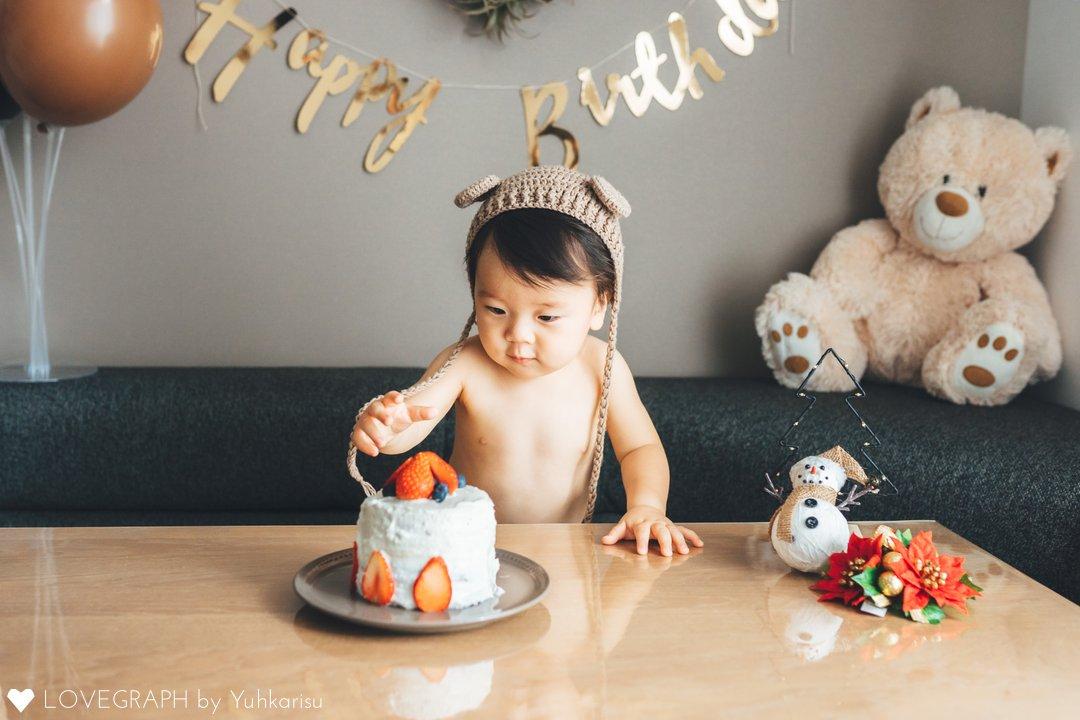 aoi 1st birthday | 家族写真(ファミリーフォト)