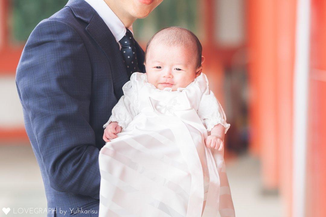 心詩お宮参り | 家族写真(ファミリーフォト)