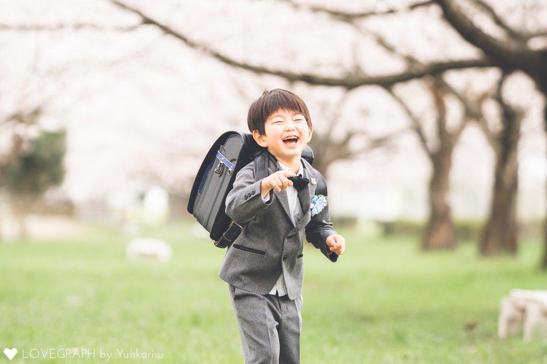 祝6歳×祝入学 | 家族写真(ファミリーフォト)