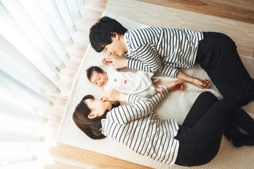HANA Newborn | 家族写真(ファミリーフォト)