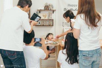 Ria 1st Birthday   | 家族写真(ファミリーフォト)