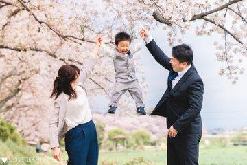 入園&桜フォト | 家族写真(ファミリーフォト)