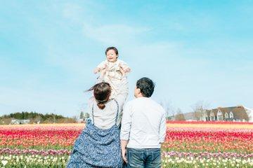 たっくん 2歳birthday | 家族写真(ファミリーフォト)