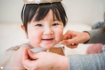 ありさ1歳誕生日   家族写真(ファミリーフォト)