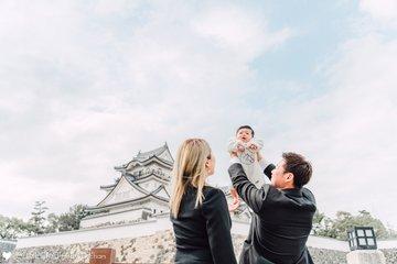 榮臣お宮参り | 家族写真(ファミリーフォト)