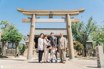 はるとのお宮参り | 家族写真(ファミリーフォト)