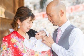 めいちゃんお宮参り | 家族写真(ファミリーフォト)