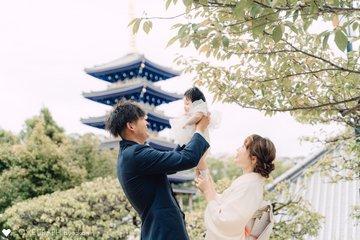 kotoha✴︎お宮参り | 家族写真(ファミリーフォト)