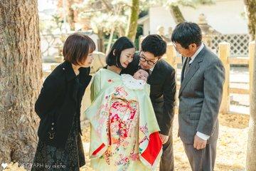 蓮花 お宮参り | 家族写真(ファミリーフォト)