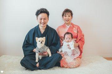 yunano お宮参り | 家族写真(ファミリーフォト)