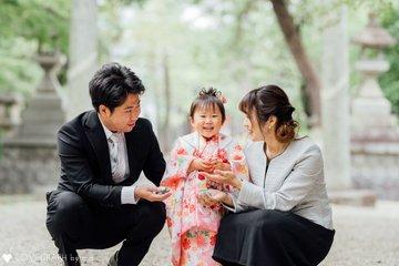 歩羽七五三 | 家族写真(ファミリーフォト)