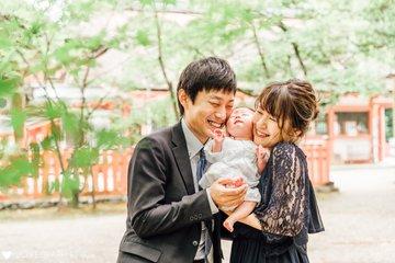 暖生☆お宮参り | 家族写真(ファミリーフォト)