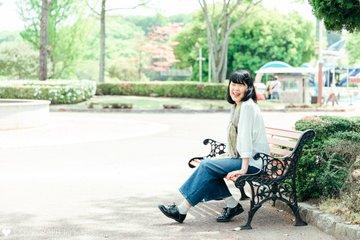 プロフィール写真×遊園地 | .me(ドットミー)で撮影
