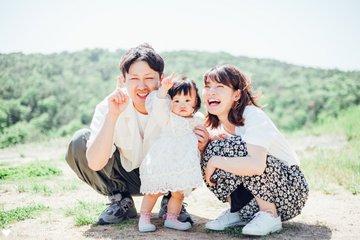 sora 1st birthday | 家族写真(ファミリーフォト)