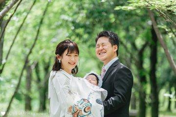春くん お宮参り | 家族写真(ファミリーフォト)