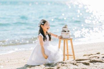 Hiyori 8th Birthday | 家族写真(ファミリーフォト)
