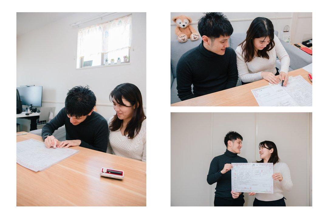 Kohei × Yumiko 入籍日 | 夫婦フォト