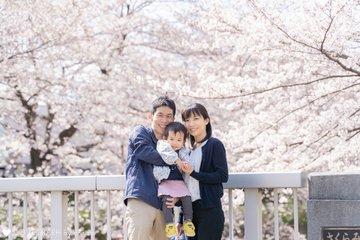 2 years old Chikage's family | 家族写真(ファミリーフォト)