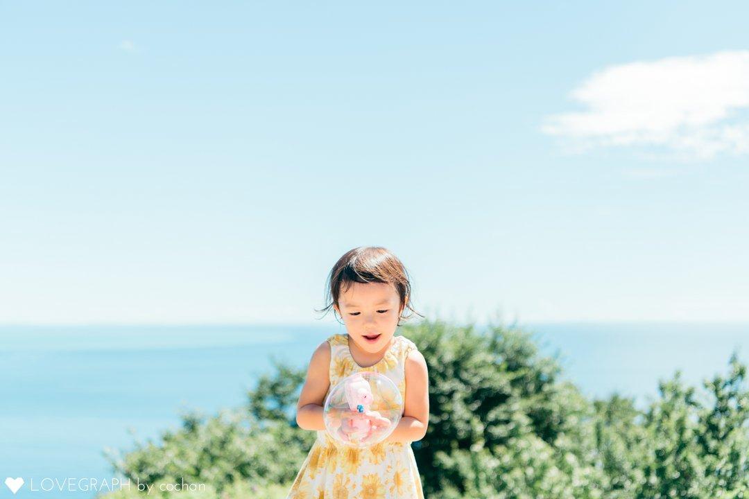 海とお花の公園♪   家族写真(ファミリーフォト)