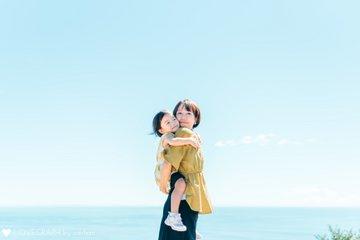 海とお花の公園♪ | 家族写真(ファミリーフォト)