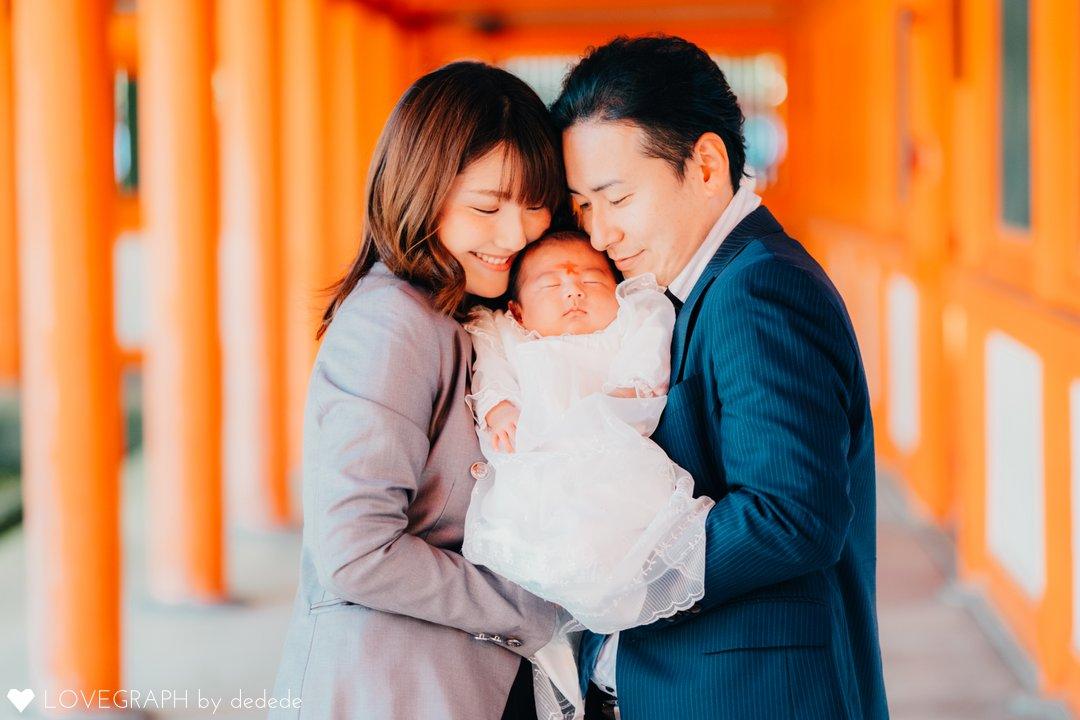 H's omiyamairi   家族写真(ファミリーフォト)